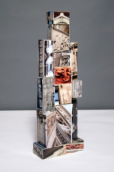 Phototures photo sculptures by Adrianne Tolsch
